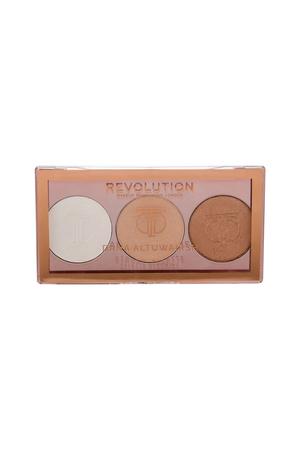 Makeup Revolution London X Dana Strobe Palette Brightener 7,2gr