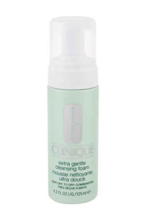 Clinique Extra Gentle Cleansing Mousse 125ml (Mixed - Dry - Very Dry)