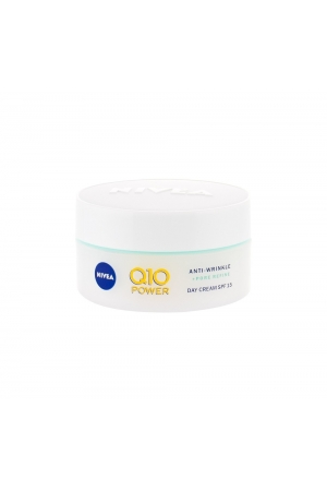 Nivea Q10 Power Anti-wrinkle + Firming Day Cream 50ml Spf15 (First Wrinkles - All Skin Types)
