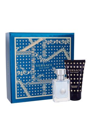 Versace Pour Homme Eau De Toilette 30ml Combo: Edt 30ml + 50ml Shower Gel