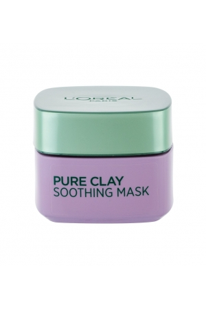 L/oreal Paris Pure Clay Soothing Mask Face Mask 50ml (All Skin Types - For All Ages)
