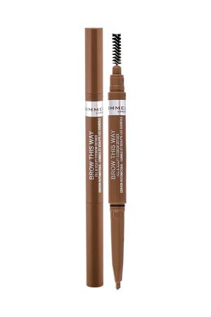 Rimmel London Brow This Way Fill Sculpt Eyebrow Pencil 0,25gr 001 Blonde