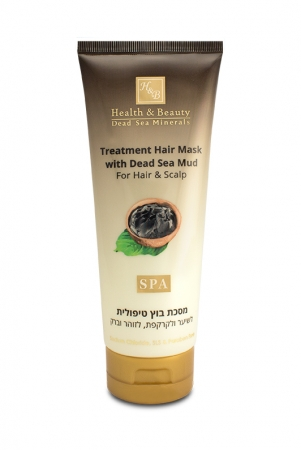 Treatment Hair Mask with Dead Sea Mud For hair and scalp 200ml