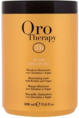 Fanola 24K Oro Puro Hair Mask 1000ml (All Hair Types)