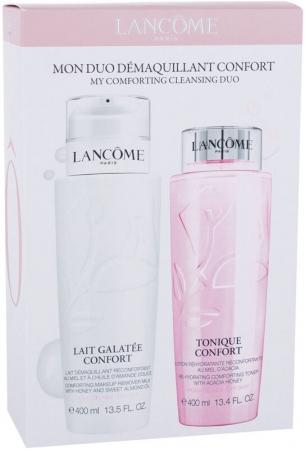 Lancôme Galatée Confort Cleansing Milk 400ml Combo: Cleansing Milk Galatee Confort 400 Ml + Cleansing Water Tonique Confort 400 Ml