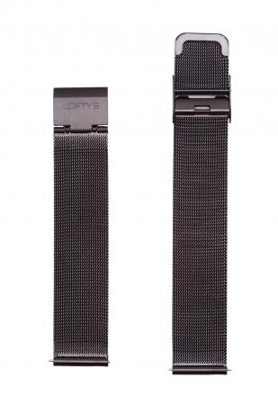 Black Mesh Strap 18mm