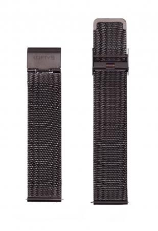 Black Mesh Strap 20mm