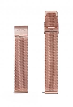 Rose Gold Mesh Strap 18mm