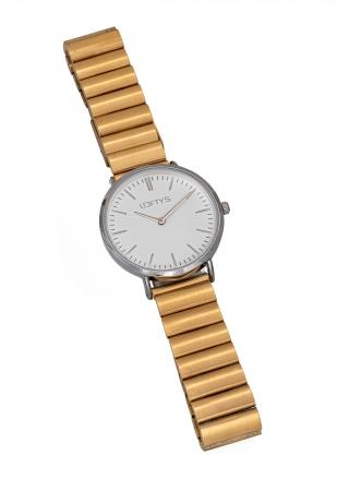 LOFTY'S Corona Gold Stainless Steel Bracelet Y2016-10