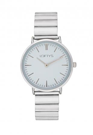 LOFTY'S Corona Silver Stainless Steel Bracelet Y2016-12