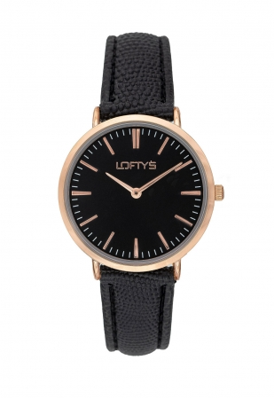 LOFTY'S Corona Black Leather Strap Y2016-13