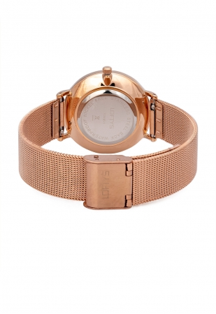 LOFTY'S Corona Rose Gold Stainless Steel Bracelet Y2016-14