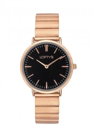 LOFTY'S Corona Rose Gold Stainless Steel Bracelet Y2016-16