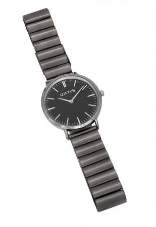 LOFTY'S Corona Grey Stainless Steel Bracelet Y2016-20
