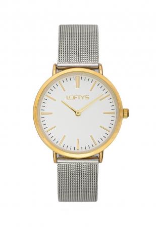 LOFTY'S Corona Silver Stainless Steel Bracelet Y2016-21
