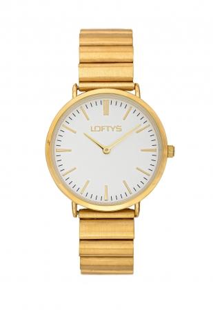 LOFTY'S Corona Gold Stainless Steel Bracelet Y2016-23