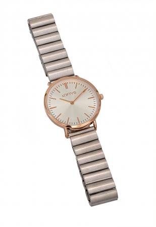 LOFTY'S Corona Silver Stainless Steel Bracelet Y2016-4