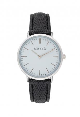 LOFTY'S Corona Black Leather Strap Y2016-7