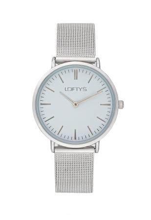 LOFTY'S Corona Silver Stainless Steel Bracelet Y2016-9