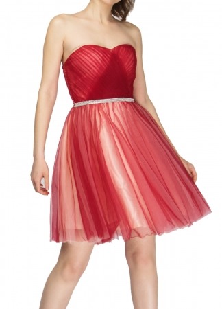 Strapless Special Occasion Mini Dress