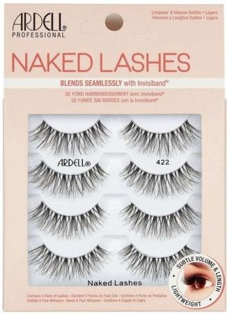 Ardell Naked Lashes 422 False Eyelashes Black 4pc