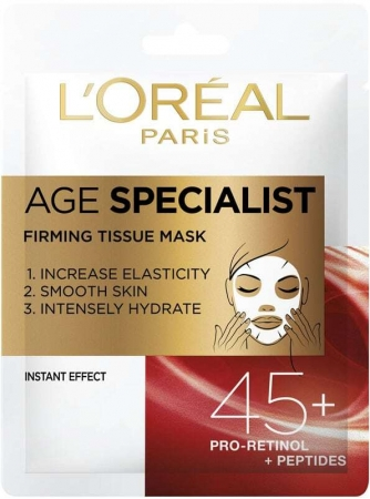 L´oréal Paris Age Specialist 45+ Face Mask 1pc (Mature Skin)