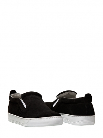 Suede Leather Slip-ons
