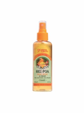 Hei Poa Monoi Dry Oil SPF15 Tiare Spray 100ml