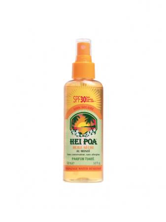 Hei Poa Monoi Dry Oil SPF30 Tiare Spray