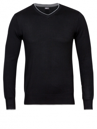 Viscose Sweater V Neck