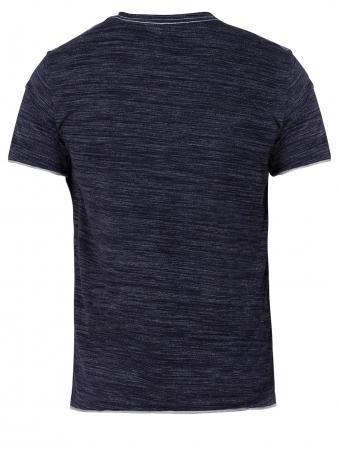 Men's Navy V Neck T Shirt