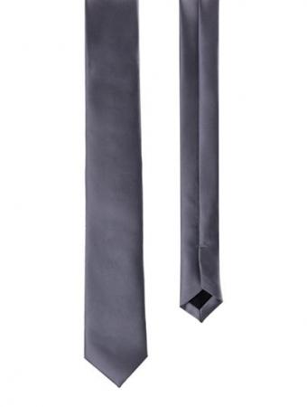Men's Silk Ties in Silver