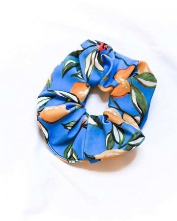 Scrunchie Μαλλιών Lemon Μπλε