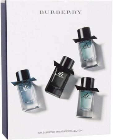 Burberry Mr. Burberry Collection Eau de Parfum 5ml Combo: Edp Mr. Burberry 5 Ml + Edt Mr. Burberry 2 X 5 Ml + Edt Mr. Burberry Indigo 5 Ml