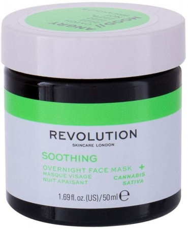 Revolution Skincare Angry Mood Soothing Overnight Face Mask 50ml (For All Ages)