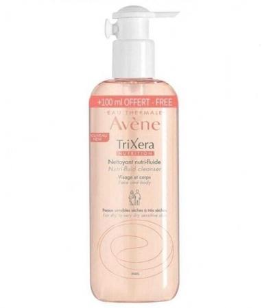 Avene TriXera Nutri-Fluid Shower Gel 500ml