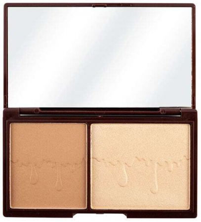 Makeup Revolution London I Heart Makeup Chocolate Duo Palette Bronzer Bronze And Glow 11gr