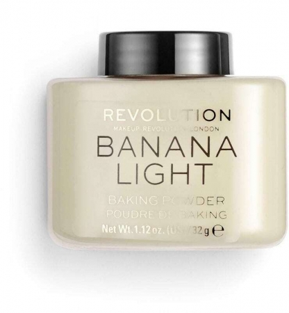 Makeup Revolution London Baking Powder Powder Banana Light 32gr