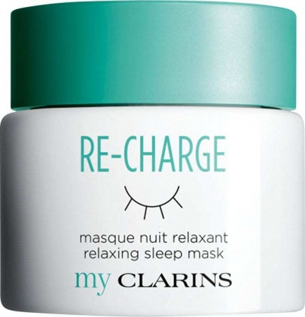 Clarins Re-Charge Relaxing Sleep Mask Face Mask 50ml (For All Ages)
