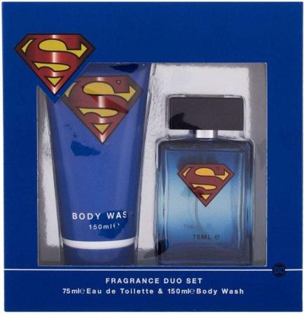Dc Comics Superman Eau de Toilette 75ml Combo: Edt 75 Ml + Shower Gel 150 Ml