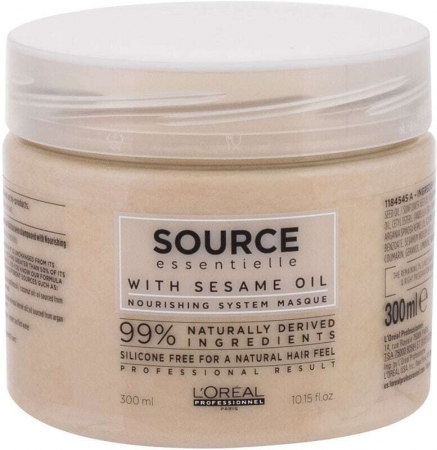 L´oréal Professionnel Source Essentielle Nourishing Masque Hair Mask 300ml (Sensitive Scalp - Dry Hair)