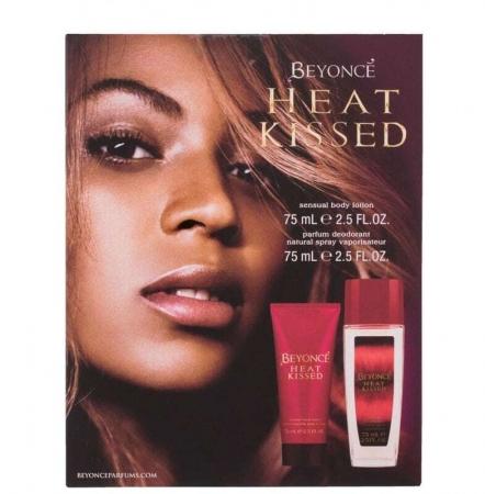 Beyonce Heat Kissed Deodorant 75ml Combo: Deodorant 75ml + 75ml Body Lotion (Deo Spray - Aluminium Free)