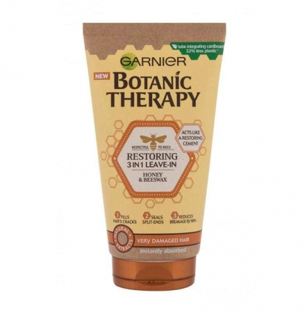 Garnier Botanic Therapy Honey & Beeswax 3in1 Leave-In Leave-in Hair Care 150ml (Damaged Hair)