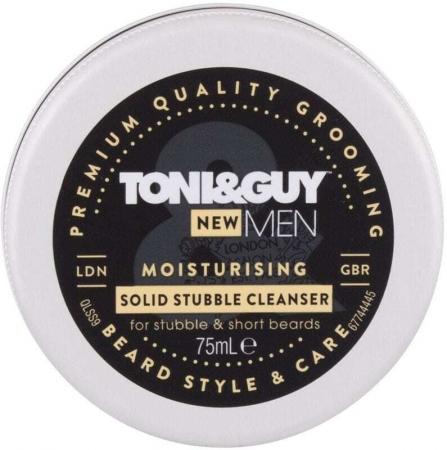 Toni&guy Men Moisturising Solid Stubble Cleanser Cleansing Cream 75ml