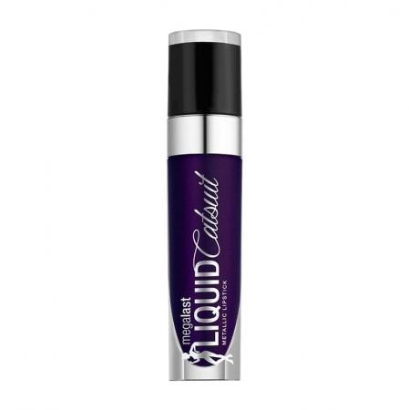 Wet N Wild Mega Last Liquid Catsuit Metallic Lipstick Bewitched 993 4gr