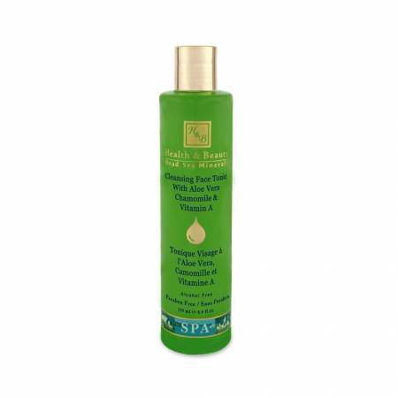 Cleansing Face Tonic with Aloe Vera Chamomile & Vitamin A