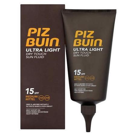 Pizbuin Ultra Light Dry Touch Sun Fluid SPF15 - Wishy-Fluid Lotion 150ml SPF15