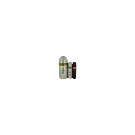 Cuba Gold Gift Set Eau De Toilette 100ml & Deodorant 200ml