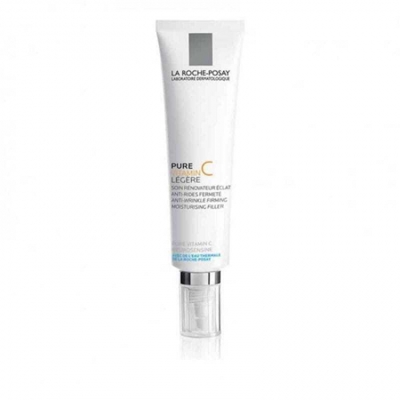 La Roche-posay Pure Vitamin C Anti-Wrinkle Filler Light Day Cream 40ml (Wrinkles - Mature Skin)