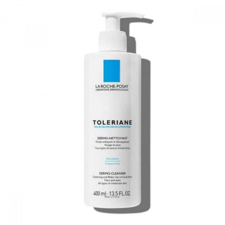 La Roche-posay Toleriane Dermo-Cleanser Face and Eyes Face Cleansers 400ml (Alcohol Free)
